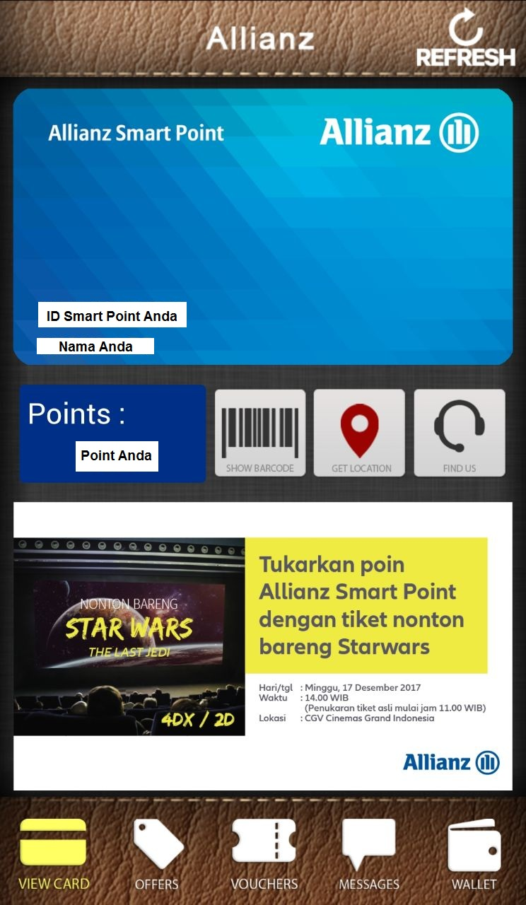 Cara Penukaran Allianz Smart Point di Aplikasi Alacards 2