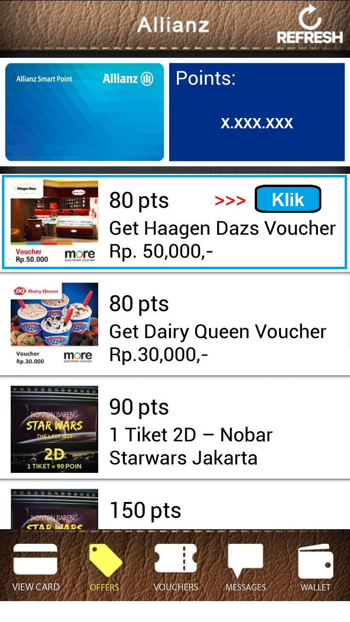 Contoh Merchandise Allianz Smart Point