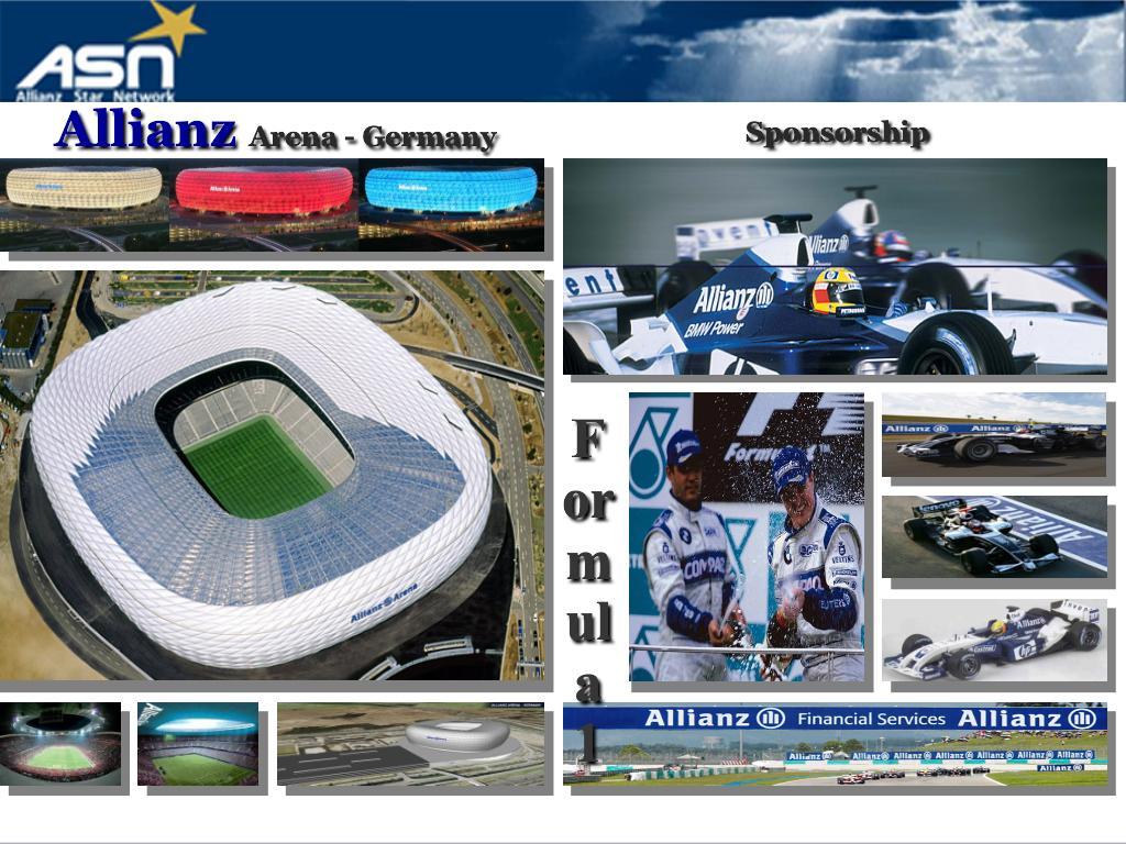 Mengenal Lebih Dalam Asuransi Allianz Memiliki Stadium Allianz Arena, Sponsor Formula 1, dan Beberapa Cabang Olah Raga