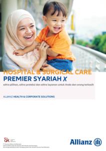 Hospital & Surgical Care Premier Syariah X