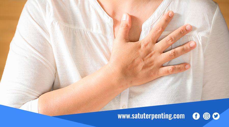 Mengalami Serangan Jantung
